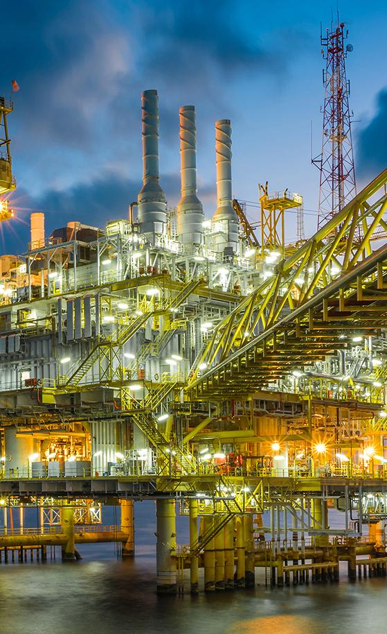 Instalación petrolífera