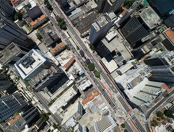 Ciudad desde arriba