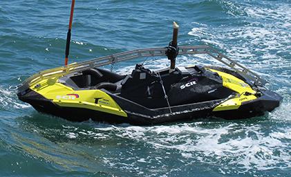 SPAYK I en el mar