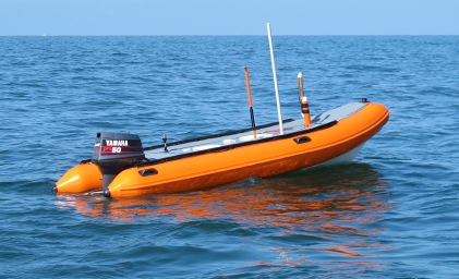SPAYK II en el mar