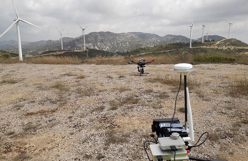 Inspección de parque eólico