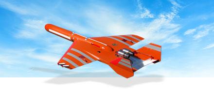 target-drones in the sky