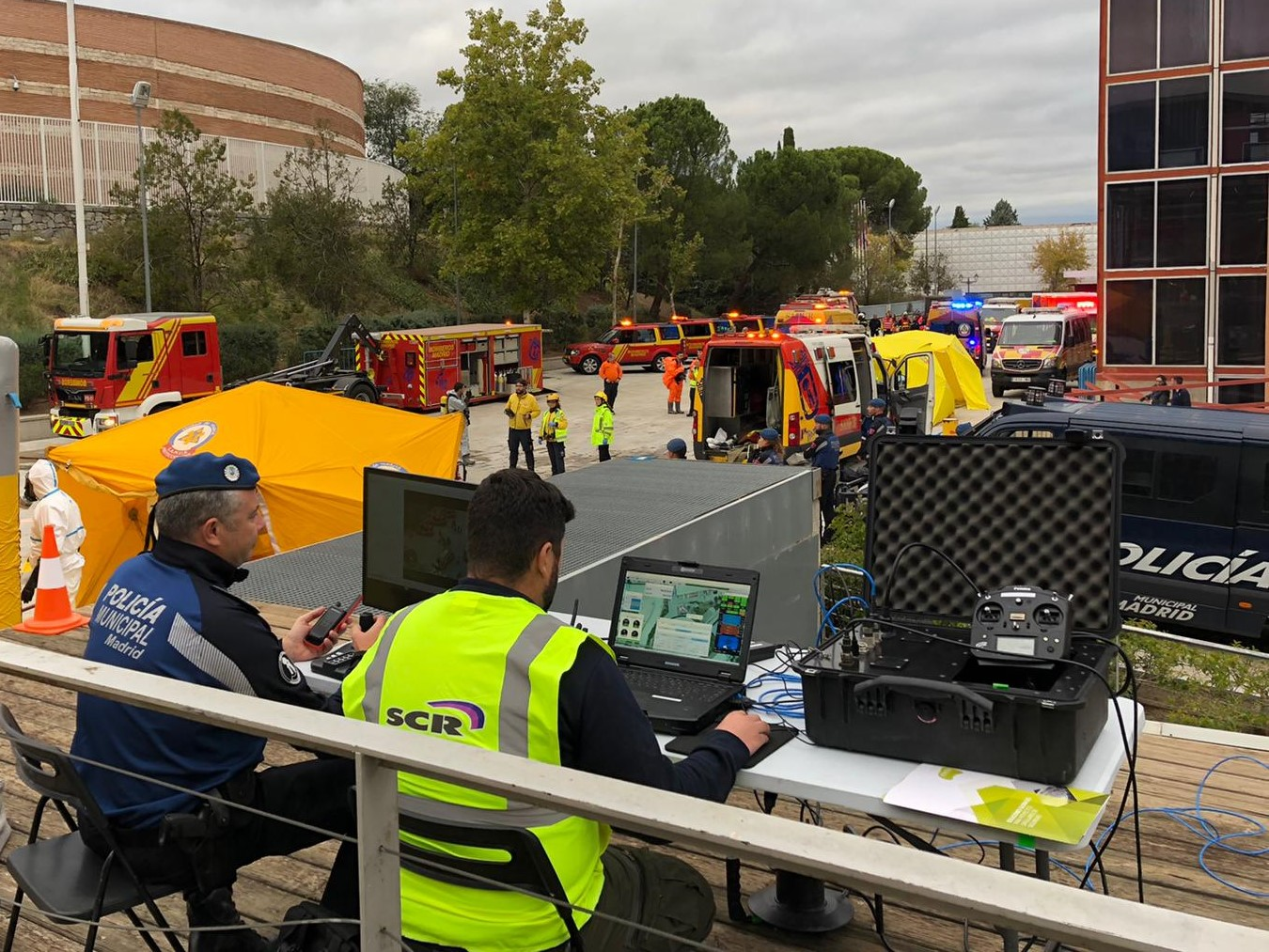 madrid-municipal-police-tethered-drone-aster-t-in-emergency-drill